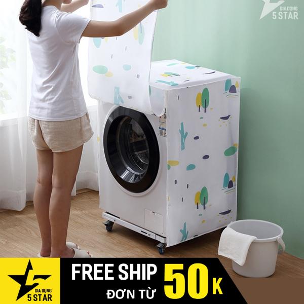 Bảng giá (Cao cấp) Áo trùm máy giặt cửa trên và cửa trước 6kg - 9kg chống thấm nước, chống ánh nắng vải PEVA cực bền 5STAR Điện máy Pico