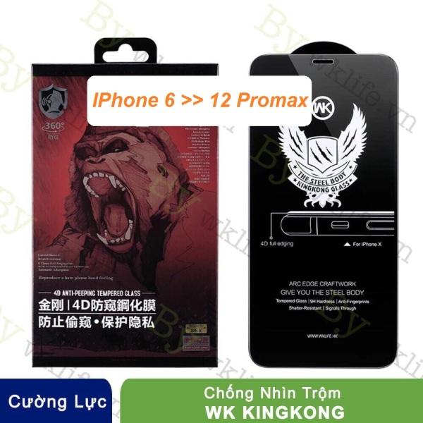 [Giá Siêu Sốc] Kính Chống Nhìn Trộm King Kong WkDesign Cho IPhone