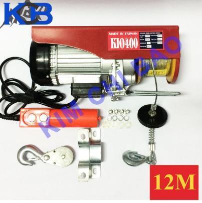 Tời điện KIO PA 400 -12m cáp
