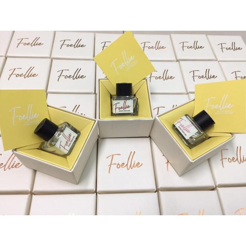 Nước hoa vùng kín Foellie màu trắng, cam kết sản phẩm đúng mô tả, chất lượng đảm bảo, an toàn cho người sử dụng nhập khẩu