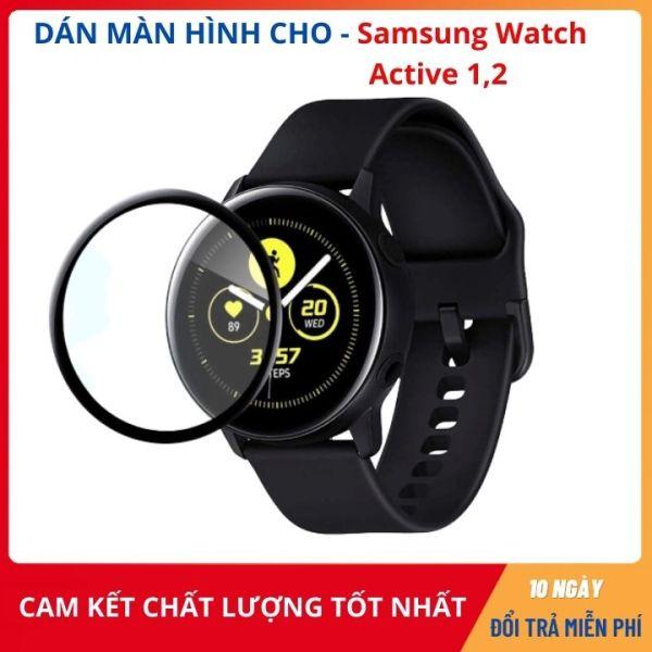 Dán màn hình , dán cường lực đồng hồ Samsung Galaxy Watch Active- Active 2  (Bản 40mm và 44mm) ✅ Hàng cao cấp ✅