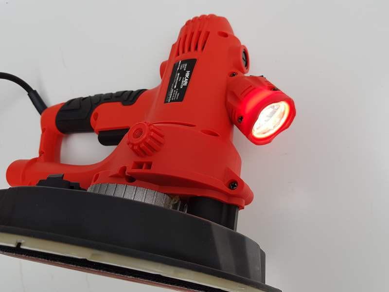 chà bóng tường có đèn hikari 180-03B, nhỏ, gọn, chống nhiễm điện