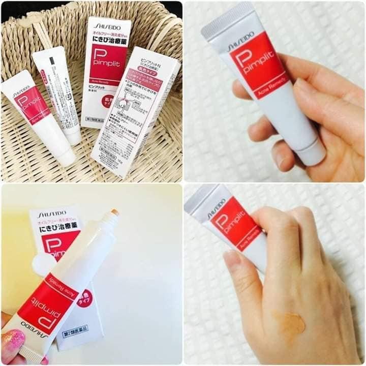 Kem Trị Mụn Shiseido Pimplit Nhật Bản Có Giá Tốt