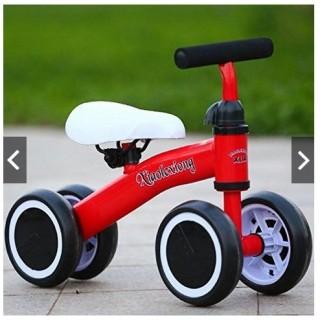 XE CÂN BẰNG 4 BÁNH CHO BÉ 1 tuổi 3 tuổi bé tập đi xe bốn bánh chống lật ( màu ngẫu nhiên) thumbnail