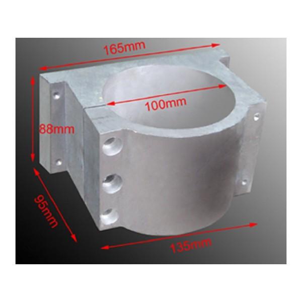 Gá củ đục Spindle D100 D125 Spindle 3.0kW 5.5kW