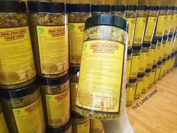 1kg muối thảo dược ngâm chân cao cấp