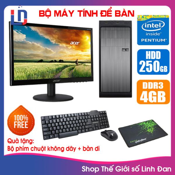 Bảng giá Bộ case máy tính CPU Pentium G2010 / Core i5-3330 / Ram 4GB / HDD 250GB-500GB / SSD 120GB-240GB + Màn hình + [QUÀ TẶNG: Bộ phím chuột không dây + bàn di chuột] VPI53 + M - LLD Phong Vũ