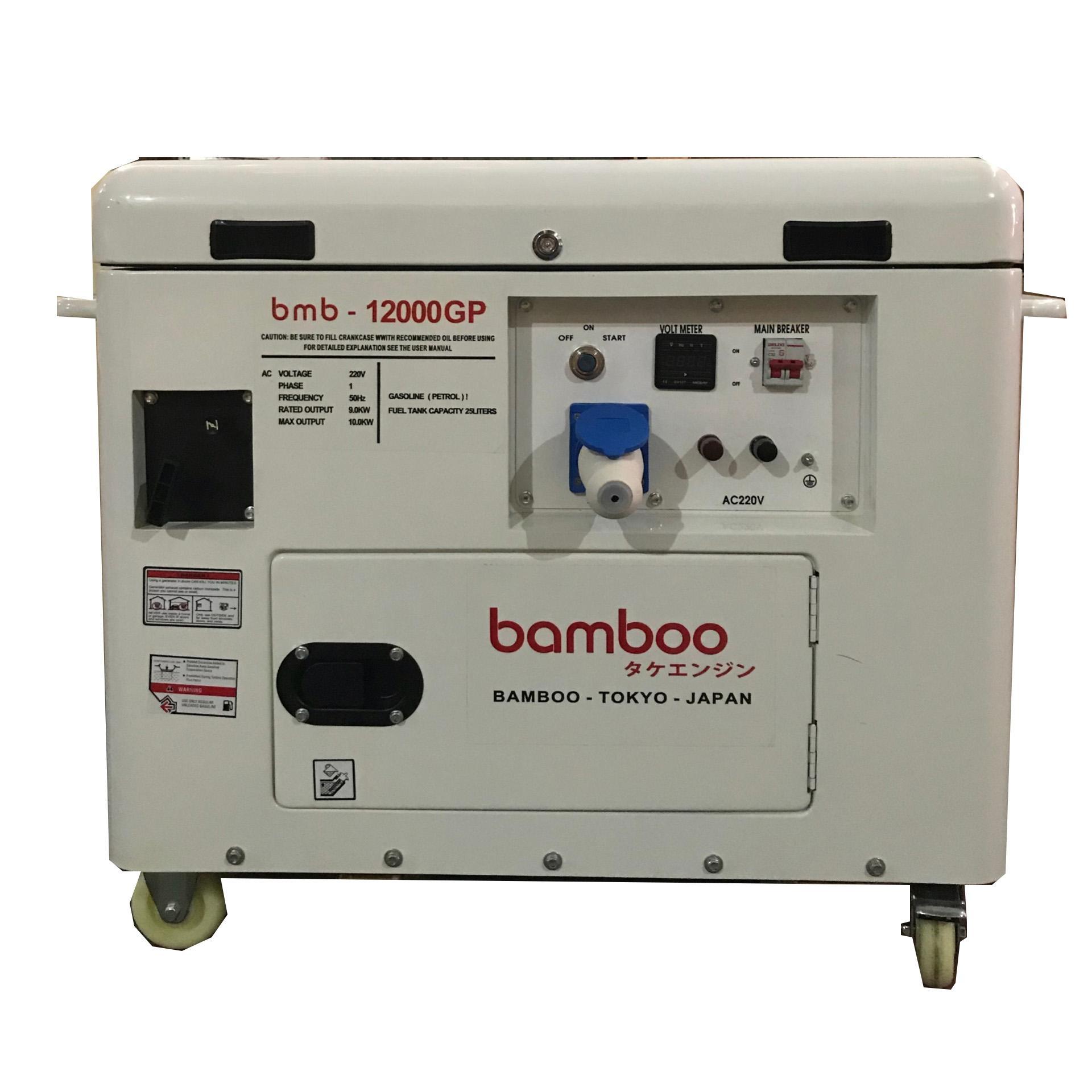Máy phát điện chạy xăng Bamboo Bmb 12000GP 10kw THƯƠNG HIỆU NHẬT CHO NGƯỜI VIỆT