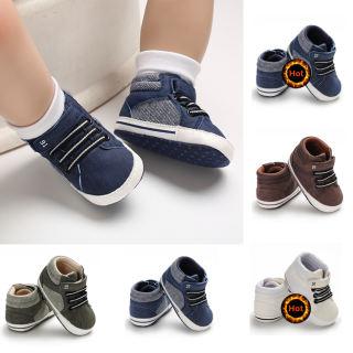 Giày Cũi Đế Mềm Cho Bé Giày Sneaker Trẻ Sơ Sinh Bé Trai Bé Gái Tập Đi Chống Trượt 0-12 Tháng
