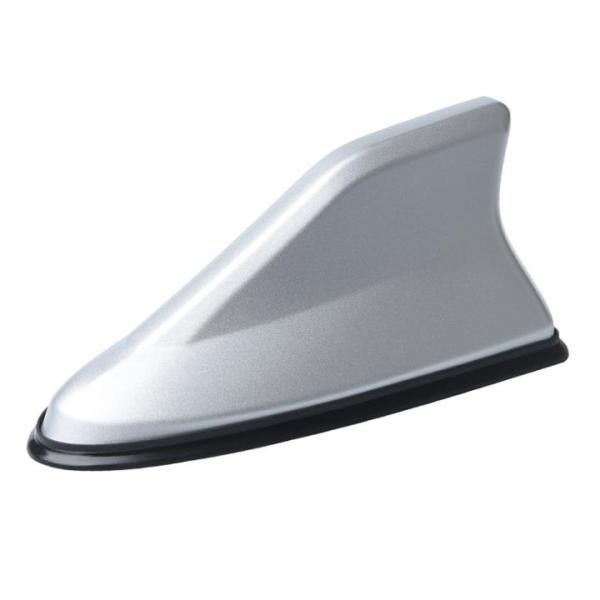 Vây cá mập ô tô, xe hơi có ăng ten bắt sóng cao cấp CB-870625-B ( Màu bạc)