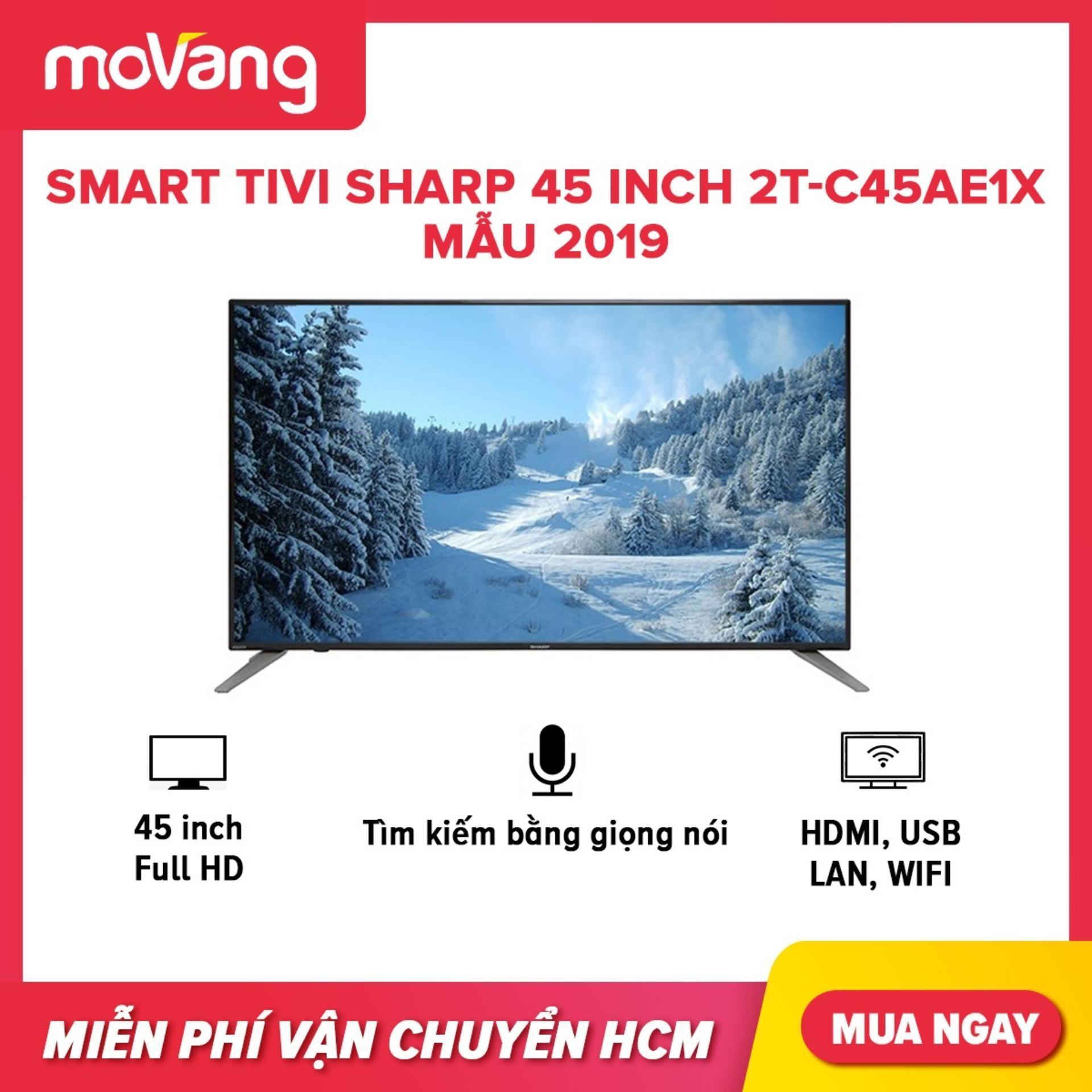 Smart Tivi Sharp 45 inch 2T-C45AE1X Mẫu 2019