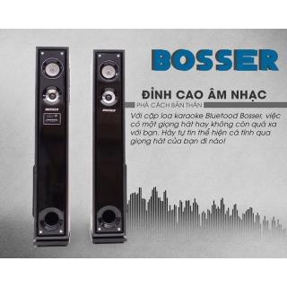 Loa karaoke Bluetooth BOSSER SA-181K tiện lợi + Tặng 2 micro thumbnail