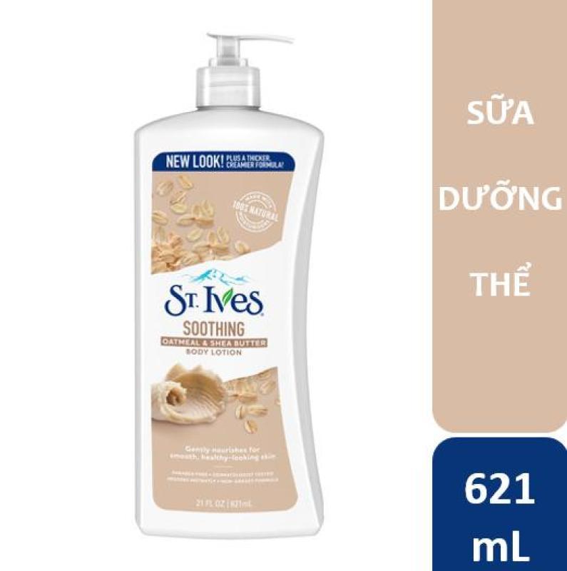 Sữa dưỡng thể St.Ives Yến Mạch Và Bơ Shea 621ml