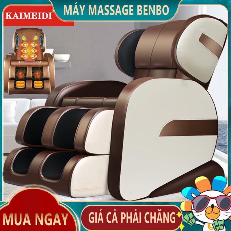 [HCM]Ghế massage máy mát xa KAIMEIDI  toàn tự động xoa bóp đa chức năng từ cổ đến chân cảm giác không trọng lực Super Bank