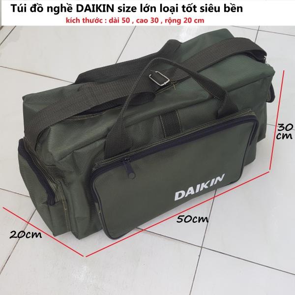 Túi đồ nghề DAIKIN ngang hộp size lớn loại tốt siêu dày