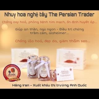Nhuỵ hoa nghệ tây Peisan Trader hàng Iran xuất Anh thumbnail