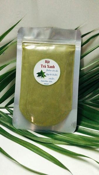 100g bột trà xanh Thái Nguyên-mặt nạ dưỡng da