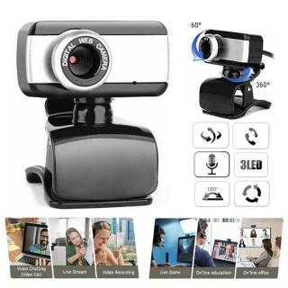 PangYa- Webcam Full HD 480P 720P 1080P 2K Camera Mạng Máy Tính USB 2.0 Cho PC Có Micrô Tích Hợp, Camera Máy Tính HD 2K Phát Sóng Trực Tiếp Mạng Hội Nghị Có Loa Tích Hợp thumbnail