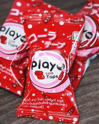 [Siêu hot] 1 cái Kẹo Phay More Candy ( dạng cuộn ) hương vị Dâu Tây loại 21g ( Mẫu mới  - Nội địa Thái Lan- Xách tay Thái - HSD : 14/11/2019)