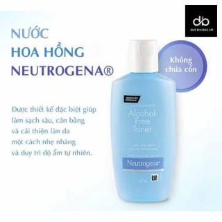 [HCM]Nước Hoa Hồng Không Chứa Cồn Neutrogena Alcohol Free Toner 150ml thumbnail