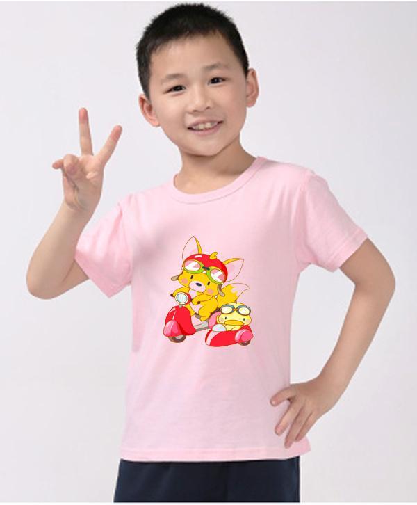 Áo thun trẻ em mềm mịn thoáng mát in hình dễ thương BT32
