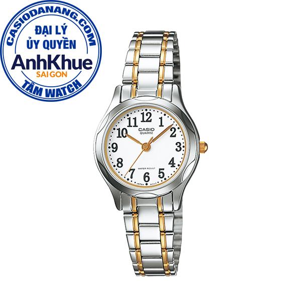 Đồng hồ nữ dây kim loại Casio Standard chính hãng Anh Khuê LTP-1275SG-7BDF (25mm)