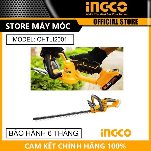 Máy cắt tỉa hàng rào 20V Ingco CHTLI2001 - HÀNG CHÍNH HÃNG