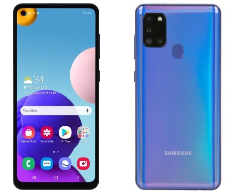 Điện thoại Samsung Galaxy A21s (3GB/32GB). Tặng kèm SIM 4G dung lượng 9G