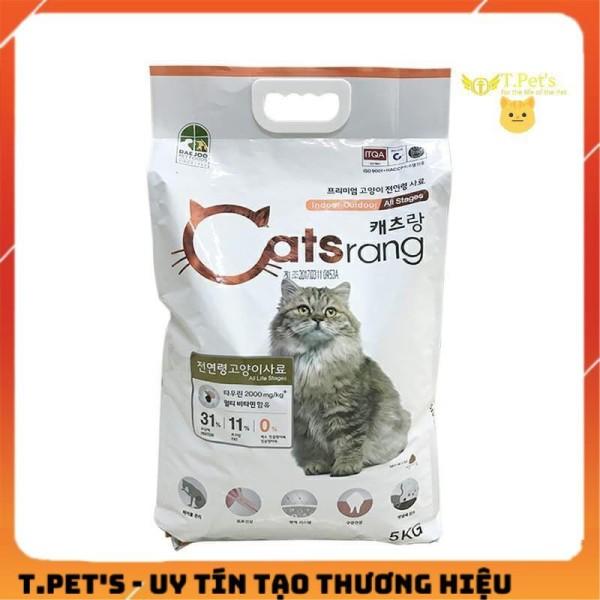 [HCM]Thức Ăn Hạt Khô Catsrang Cho Mèo Hàn Quốc 1kg