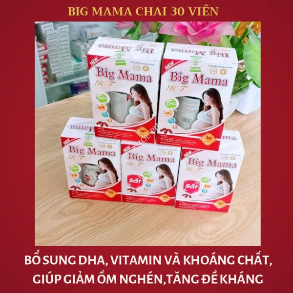 BIG MAMA - Giảm ốm nghén, tăng đề kháng cho mẹ và bé