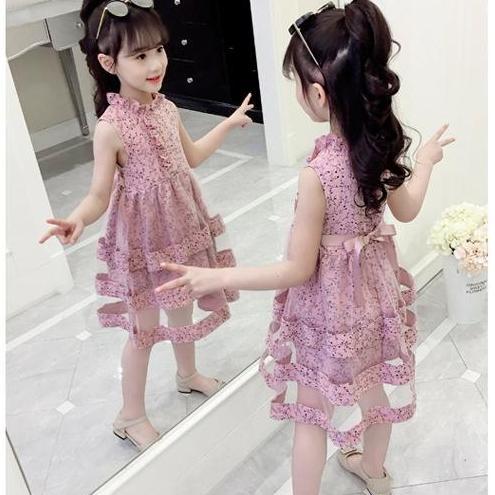 Giá bán Váy Hàn Quốc bé gái size 14-32kg. MSP: VH190301