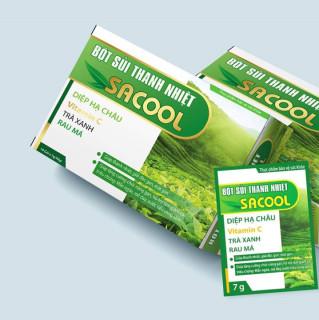 Bột sủi hỗ trợ thanh nhiệt mát gan, giải độc gan, bảo vệ gan Sacool - Giúp tăng cường chức năng gan, hỗ trợ làm giảm các triệu chứng mẩn ngứa, mề đay, nước tiểu vàng sậm. thumbnail