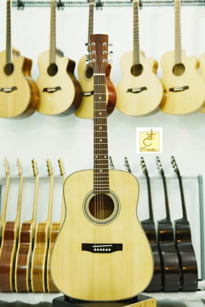 Đàn Guitar Acoustic  Gỗ Hồng Đào  DT-A16c