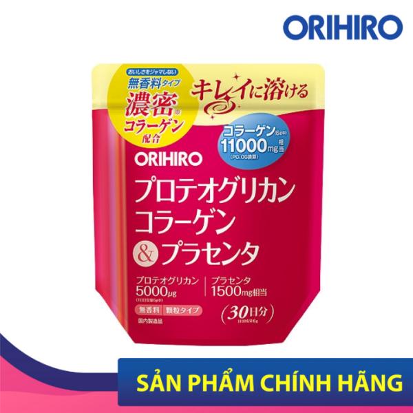 Bột Collagen Proteoglycan nhau thai heo 11000mg Orihiro 180g giá rẻ