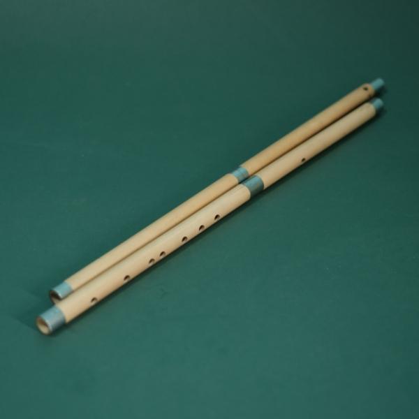 Sáo trúc khớp nối bộc inox - Sáo nối - flute