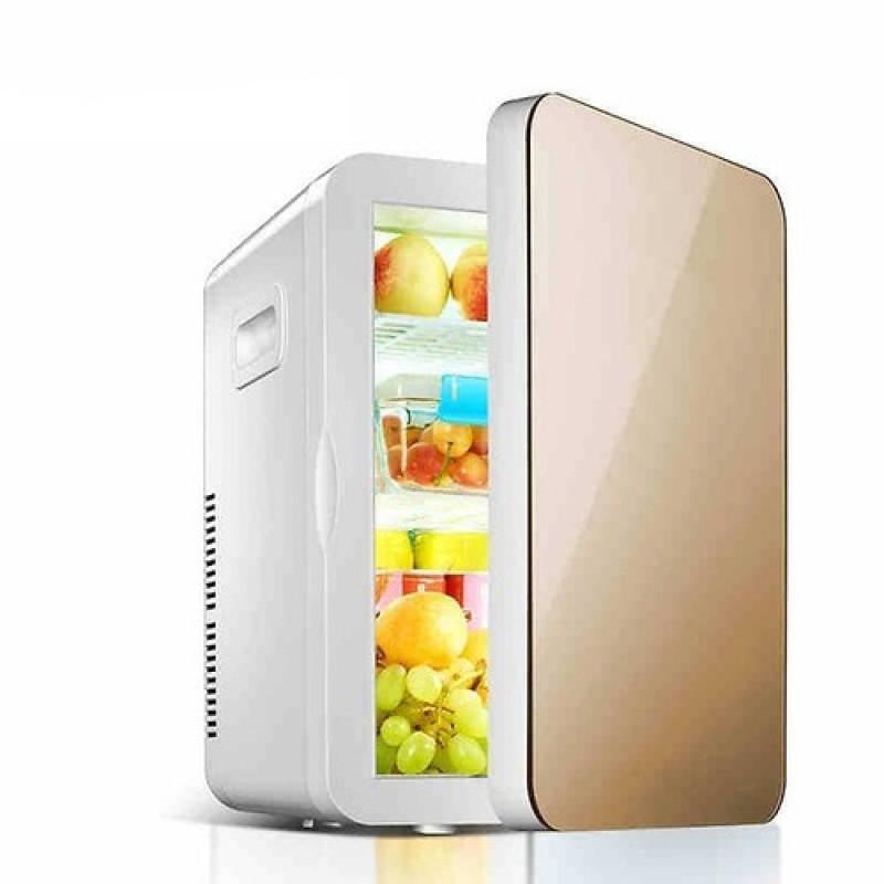 Tủ lạnh mini 2 chiều nóng lạnh, 2 nguồn cấp 220v và 12v, sử dụng cả trong gia đình và trên ô tô, làm lạnh đến 2 độ C