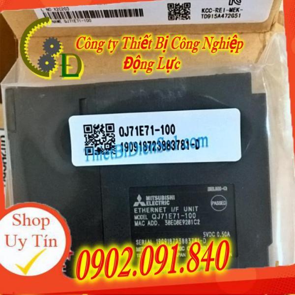 Bảng giá Module (mô đun) mạng QJ71E71-100 CHÍNH HÃNG Mitsubishi. Module quang (CC-Link V2) Mitsubishi. Cam kết bảo hành , HOÀN TIỀN đổi trả miễn phí nếu có bất cứ sai sót gì từ sản phẩm Phong Vũ