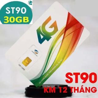 SIÊU SIM 4G Viettel ST90 Tặng 30GB Tháng - lướt mạng cực khỏe thumbnail