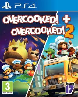 Đĩa Game PS4 Overcooked + Overcooked 2 New thumbnail