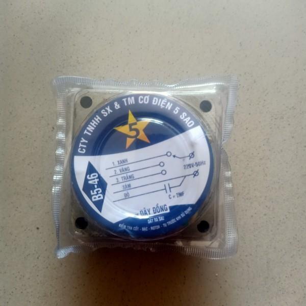 Cuộn dây stato quạt điện B5-46 Điện cơ 5 sao, dây đồng