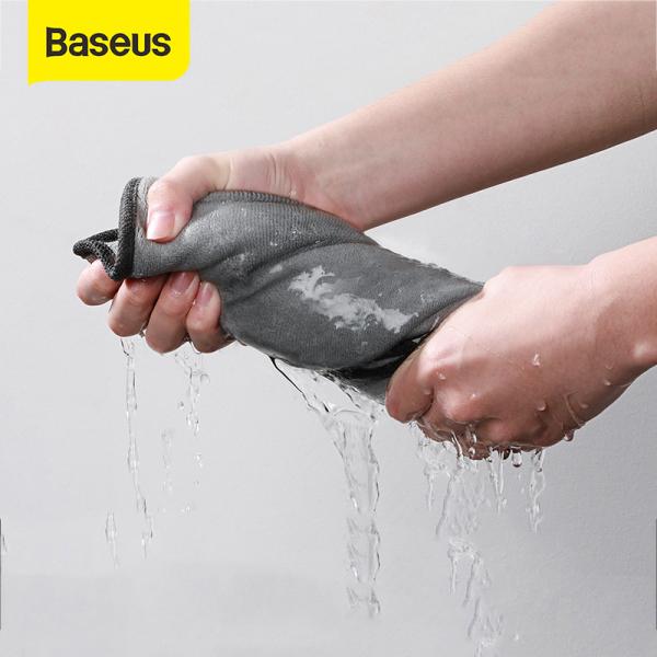 Nước rửa xe Baseus Khăn sợi nhỏ Đánh bóng xe Lau khô Xe Chi tiết tự động Chăm sóc xe Phụ kiện Rửa xe Vệ sinh xe
