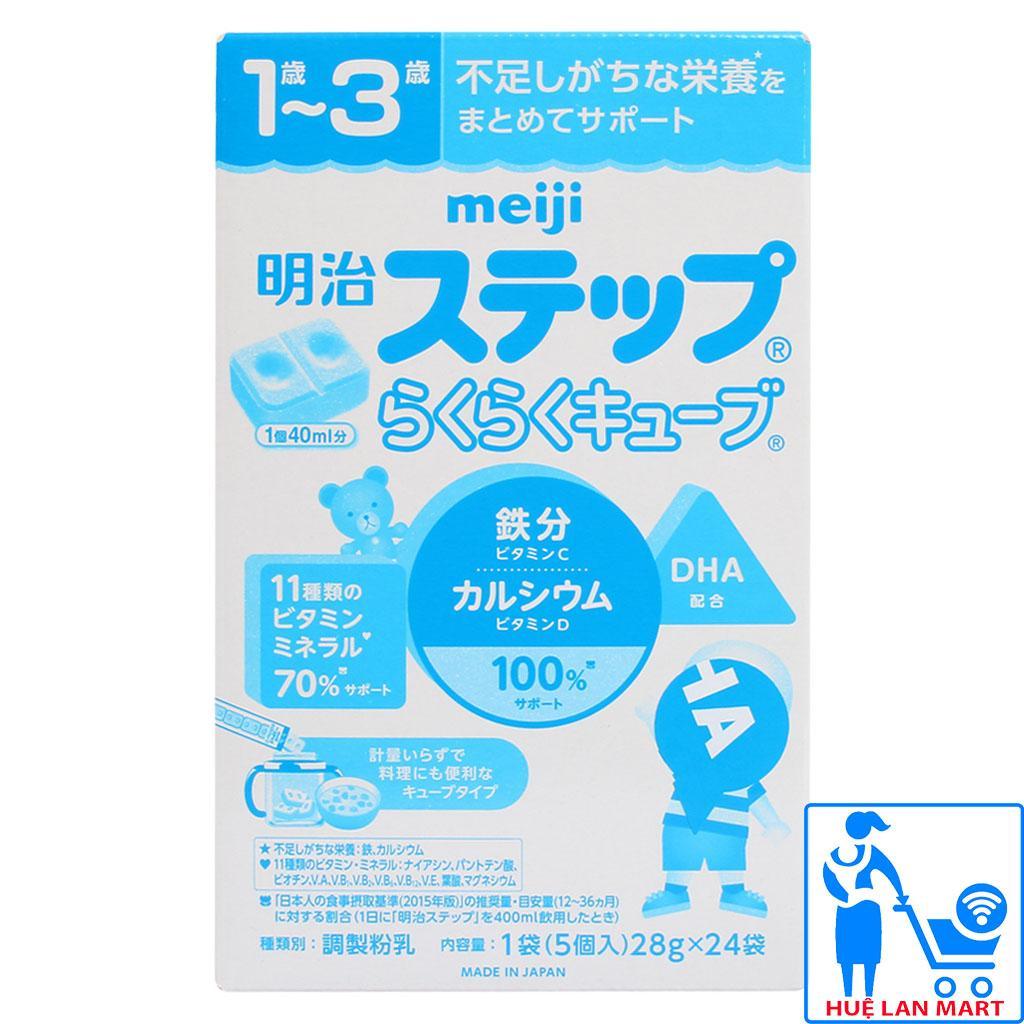 Sữa Bột Meiji Thanh Nội Địa 1-3 Hộp 672g (Cho...