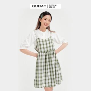 Váy đầm nữ đẹp kiểu dáng dây babydoll thời trang GUMAC mẫu mới DB469( không kèm áo sơ mi trong) thumbnail