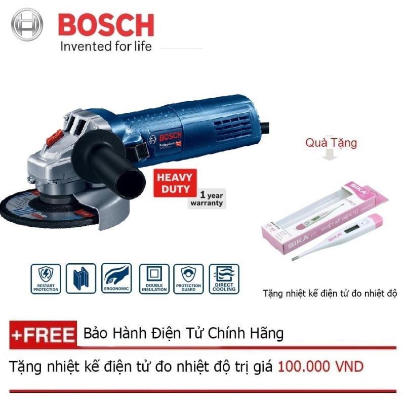 Máy mài góc Bosch GWS 900-100 + Quà tặng nhiệt kế điện tử