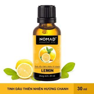 Tinh Dầu Thiên Nhiên Nguyên Chất 100% Hương Chanh Tươi Nomad Essential Oils Lemon 30ml thumbnail