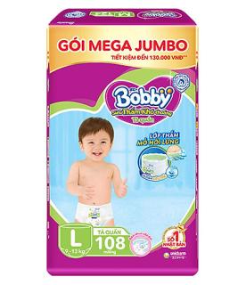 Tã quần Bobby Size XXXL24 XXL88 XL96 L108 thumbnail