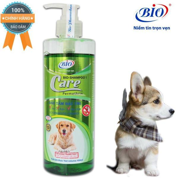 Sữa Tắm Tiêu Diệt Ve, Rận ,bọ chét Bio Care 450ml-79302