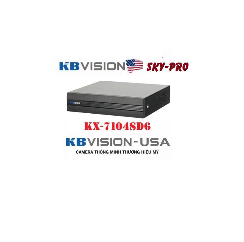 Đầu ghi hình camera 4 kênh 5 in 1 KBVISION KX-7104SD6, đầu ghi hình camera, 4 kênh full HD, bảo hành 2 năm, đầu ghi kbvision, đầu ghi kbvision 4 kênh ip, đầu ghi camera ip an ninh chuyên dụng, đầu ghi camera ip, bán trên skypro.