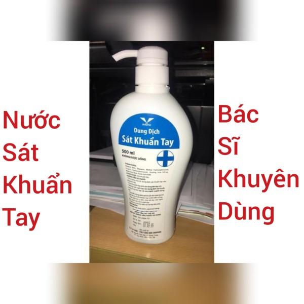 Nước rửa tay khô sát khuẩn nhanh BIDIPHAR 500ml (Bác sĩ khuyên dùng) giá rẻ
