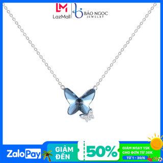 Dây chuyền Dây chuyền bạc Dây Chuyền Bạc Nữ Hình Con Bướm Xinh DB2564 - Bảo Ngọc Jewelry thumbnail